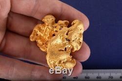 Huge, Large 160.57 Gram Natural Gold Nugget