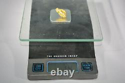 Large 1/2 Ounce gold nugget from Northern California. Natural Gold Nugget