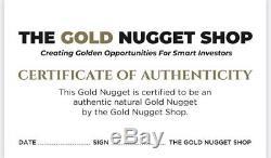 Large 17.95 Gram Natural Gold Nuggeg From Leonora, WA