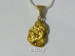 Large 4.532 Gram Natural Gold Nugget Pendant Very Attractive