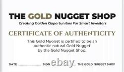 Large 51.88 gram natural gold nugget from Australia