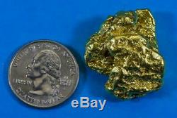 Large Alaskan BC Natural Gold Nugget 56.35 Grams Genuine 1.81 Troy Ounces