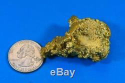 Large Alaskan BC Natural Gold Nugget 77.81 Grams Genuine 2.50 Troy Ounces