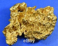 Large Natural Australian Gold Nugget 73.61 Grams, 2.36 Troy Ounces