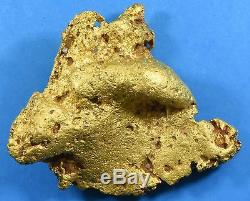 Large Natural Gold Nugget Australian 1104.9 Grams, 35.527 Troy Ounces Genuine