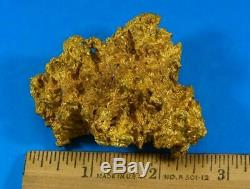 Large Natural Gold Nugget Australian 224.42 Grams 7.21 Troy Ounces Very Rare