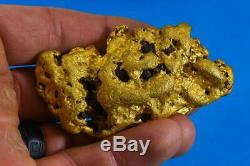 Large Natural Gold Nugget Australian 251.35 Grams 8.08 Troy Ounces Very Rare