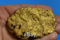 Large Natural Gold Nugget Australian 289.39 Grams 9.30 Troy Ounces Very Rare
