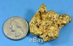 Large Natural Gold Nugget Australian 76.93 Grams 2.47 Troy Ounces Very Rare