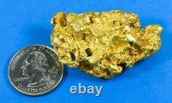 Large Natural Gold Nugget Australian 85.02 Grams 2.73 Troy Ounces Very Rare B