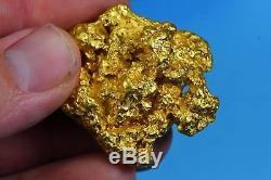 Large Natural Gold Nugget Australian 86.10 Grams 2.76 Troy Ounces Very Rare