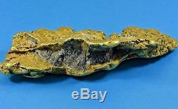 Large Rare Alaskan Natural Gold Nugget 947.3 Grams Genuine 30.455 Troy Ounces