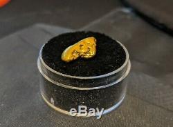 Large Size Natural Arizona Gold Nugget 4.4 Grams 22 K+ Rare