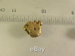 NATURAL GOLD NUGGET 6.45 grams-Natural-Gold-Nuggets/bullion/NUGGET/gems# XL64