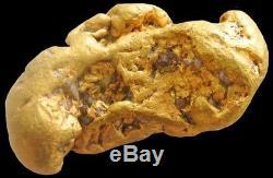 Natural Alaskan 17.6 Grams Gold Prospector Nugget Quartz Specimen