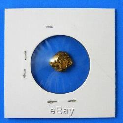 Natural Alaskan Gold Nugget 3.052 grams