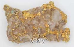 Natural Australian Gold Nugget Specimen 33.50g