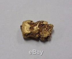 Natural Genuine 1.7 Gram Gold Nugget Specimen #H-G17JH