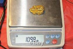 Natural Gold Nugget Australia 3.59 troy ounces 111.5 grams Wow