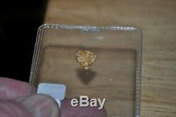 Natural gold nugget awesome shape retired jeweler selling nugget collection