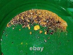 Paydirt Para Batear 950g Concentrado Oro 100% Natural Pepitas Rico En Oro Nugget
