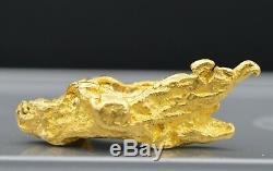 Pépite d'or naturelle 34.1 gr Natural nugget Maripasoula, Guyane, France
