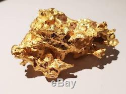 Perth Mint Natural GOLD NUGGET 188grams! RARE