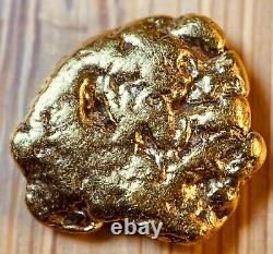Quality Alaskan Natural Placer Gold Nugget 1.057 grams Free Shipping! #A771