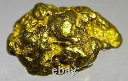 Quality Alaskan Natural Placer Gold Nugget 1.092 grams Free Shipping! #A491