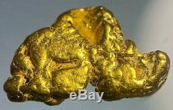 Quality Alaskan Natural Placer Gold Nugget 1.163 grams Free Shipping! #A622