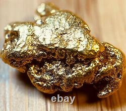 Quality Alaskan Natural Placer Gold Nugget 2.151 grams Free Shipping! #A1079