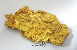 STUNNING 20.85g Gram Natural REEF GOLD NUGGET Australia