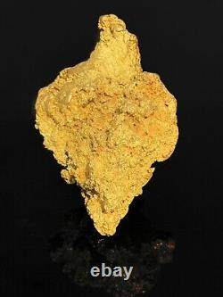West Australian rare natural gold nugget weight 130.7 grams A Heart Of Gold