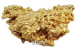 West australian crystalline rare natural pilbara gold nugget weight 0.5 grams