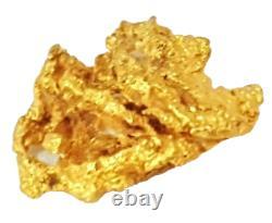 West australian high purity rare natural pilbara gold nugget weight 0.7 grams