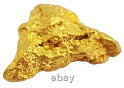West australian high purity rare natural pilbara gold nugget weight 0.9 grams