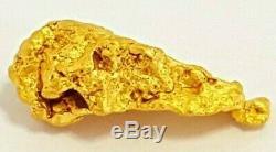 West australian high purity rare natural pilbara gold nugget weight 1.1 grams