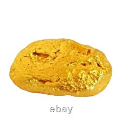 West australian high purity rare natural pilbara gold nugget weight 1.5 grams