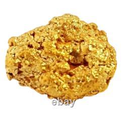 West australian high purity rare natural pilbara gold nugget weight 1.6 grams