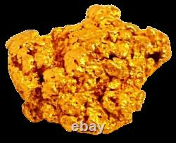 West australian high purity rare natural pilbara gold nugget weight 1.8 grams