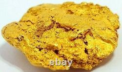West australian high purity rare natural pilbara gold nugget weight 13.6 grams