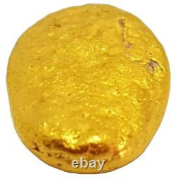 West australian high purity rare natural pilbara gold nugget weight 2.4 grams