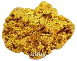 West australian high purity rare natural pilbara gold nugget weight 2 grams