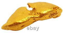 West australian high purity rare natural pilbara gold nugget weight 3.3 grams