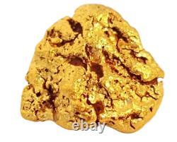 West australian high purity rare natural pilbara gold nugget weight 3.5 grams