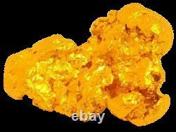 West australian high purity rare natural pilbara gold nugget weight 3 grams