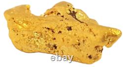 West australian high purity rare natural pilbara gold nugget weight 4.4 grams