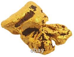 West australian high purity rare natural pilbara gold nugget weight 4.6 grams