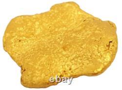 West australian high purity rare natural pilbara gold nugget weight 4.8 Grams
