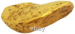 West australian high purity rare natural pilbara gold nugget weight 44.8 grams